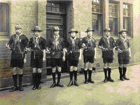 1st Lickey Scouts, 1911