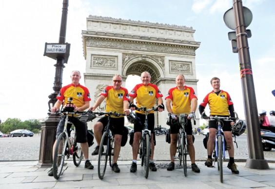 Paris riders