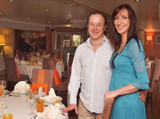 Philip Bright and Tracey Brookes