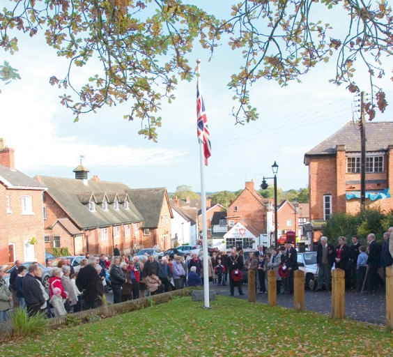 Remembrance gathering