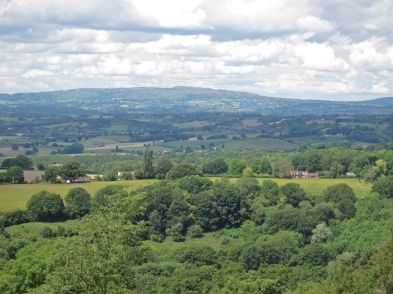 Clee hill from Woodbury