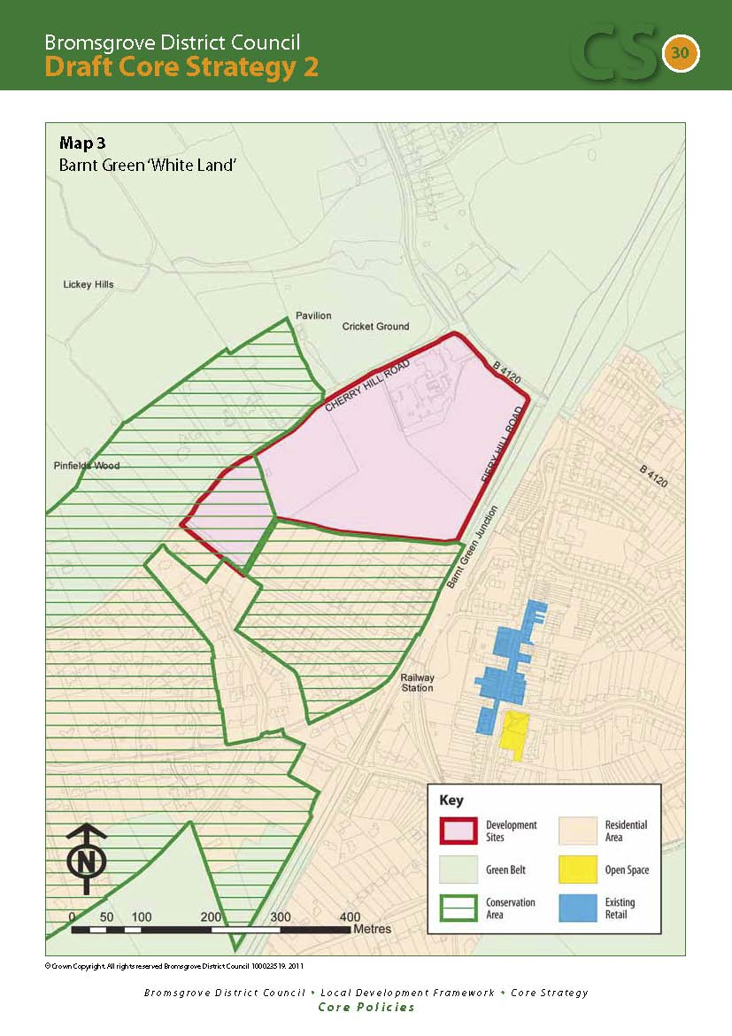 The Barnt Green Development Site