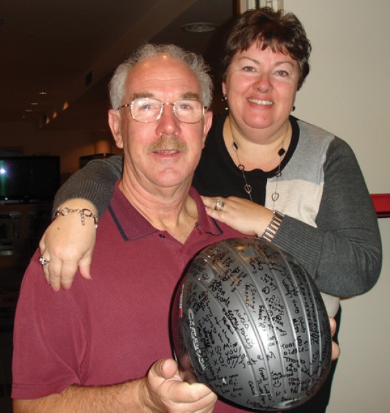 Peter and Sharon Rippington