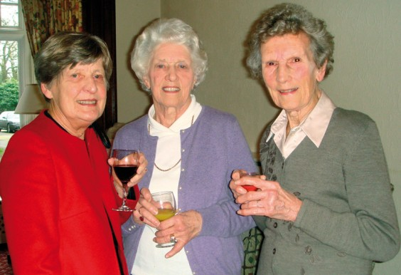 Barbara Newton-Mason, Linda Fuller and Maureen Mears