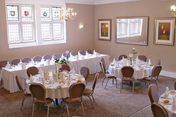 The new-look restaurant at Hillscourt