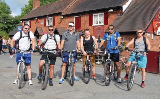 Charity riders