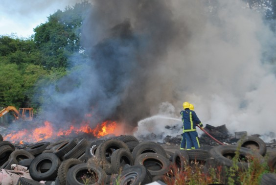 The fire at the brickworks