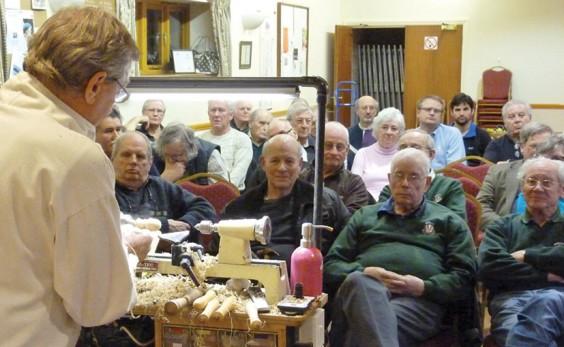John Cottrell demonstrates