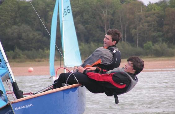 Sailing at Barnt Green