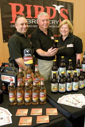 Bird's Brewery team