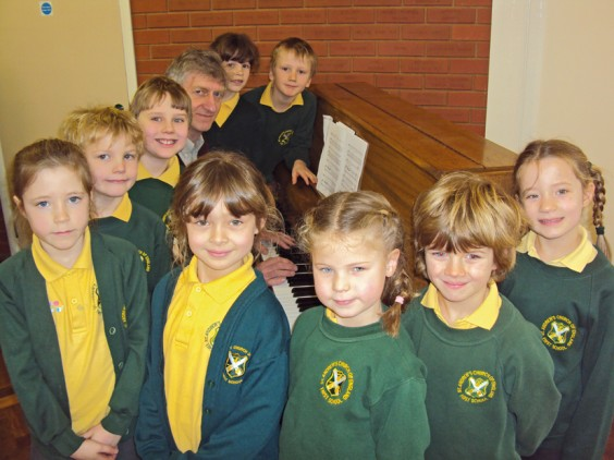 Children's choir from St Andrew's First School