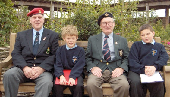 Veterans and pupils