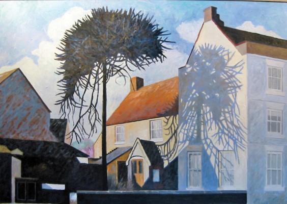 Hanover Street Monkey Puzzle by Malcolm Brookes