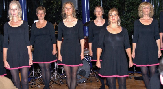 Hopwood Ladies' Riverdance