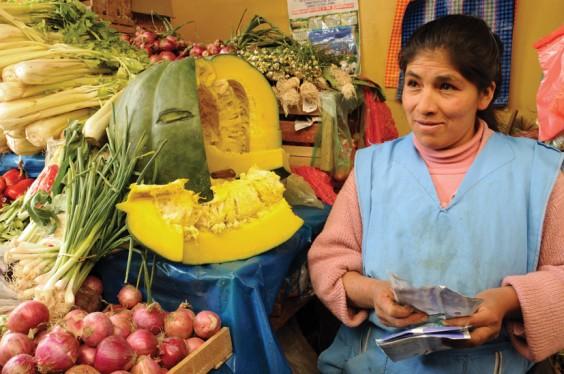 Huancavelica market, Peru