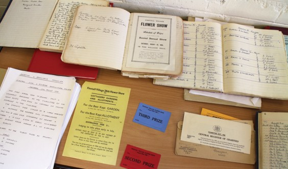Memorabilia from 110 years of village shows