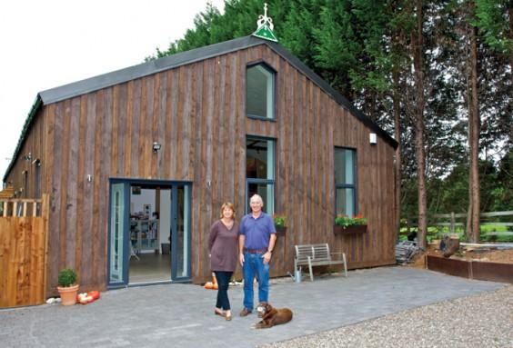 Ineke and John's new home