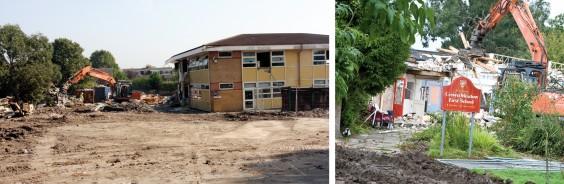 Schools demolition