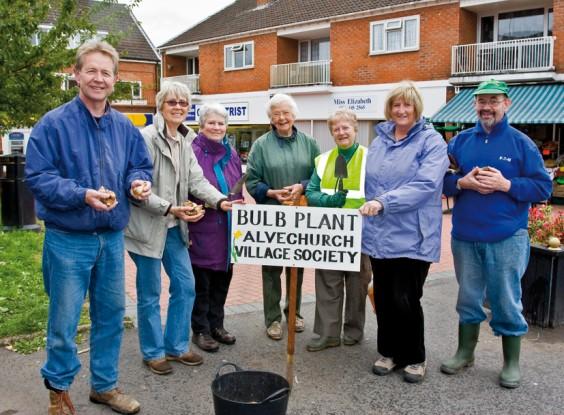 Volunteer planters