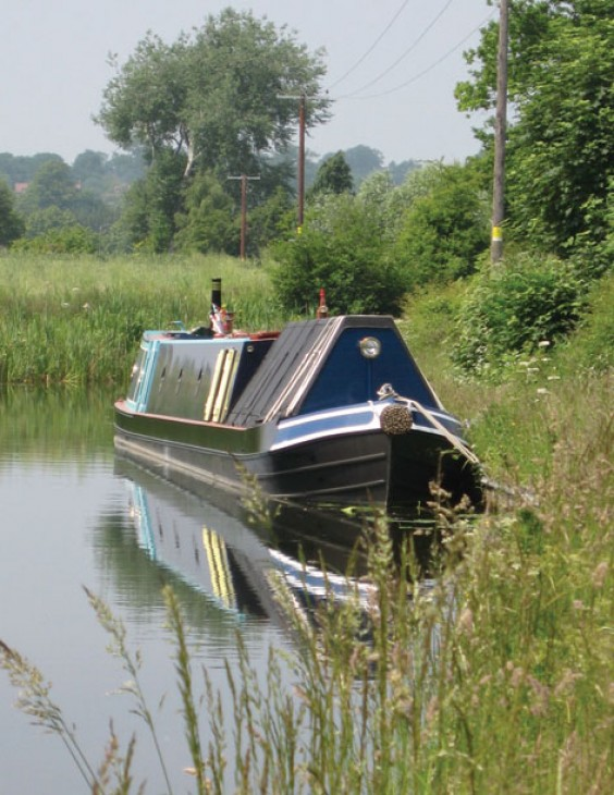 Mooring on the Stourbridge Canal