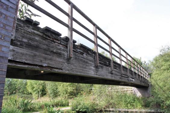 Rotting bridge
