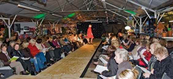The catwalk show