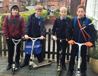 Skater boys