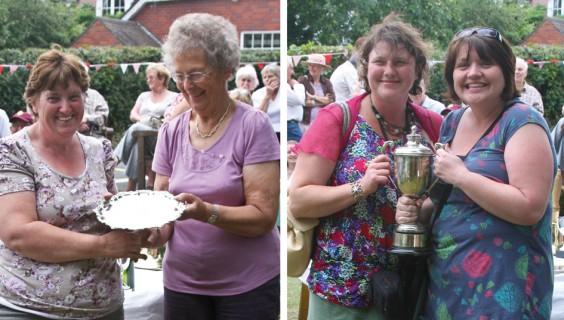 Monica Smith and Alison Clayton; Linda Southall