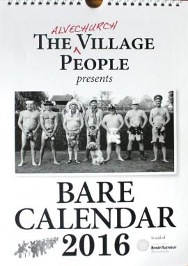 Naked calendar