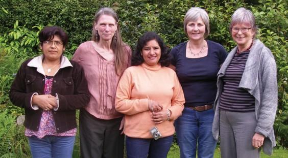 Maria, Ann, Carmela, Veronica, Sue