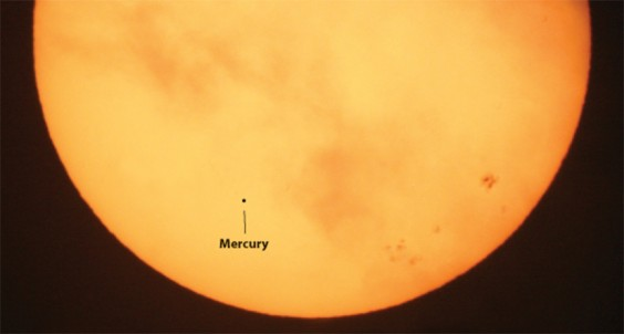 Mercury on Sun