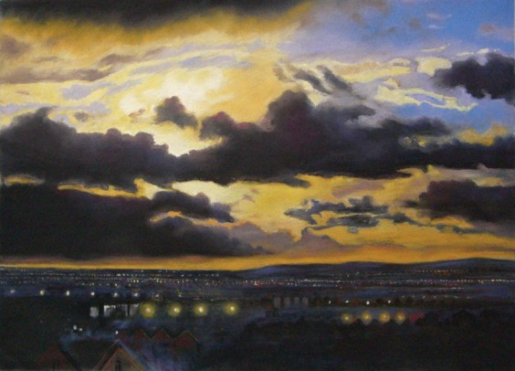 Night Settles by Lynda Kettle