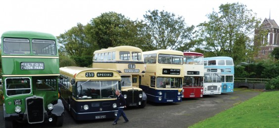 Buses at the Transport Museum