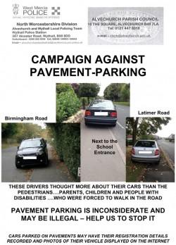 Parking poster