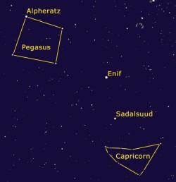 November night sky
