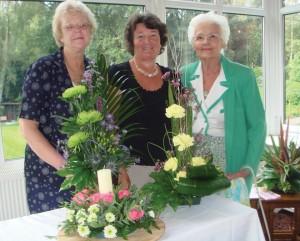 Sybil Winmill, Valerie Roberts and Simone Hughes.