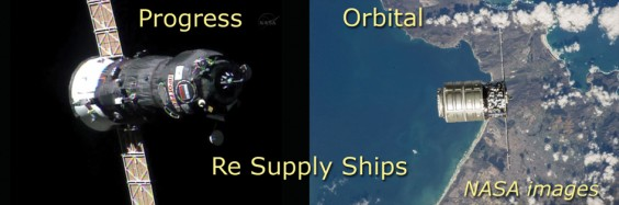 Re-supply ships