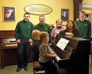 The team at Vale Pianos