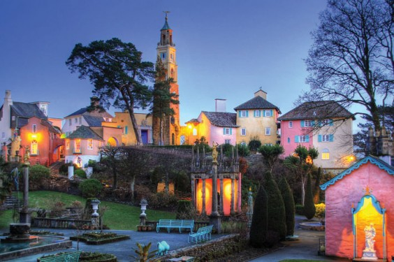 The Piazza at Portmeirion