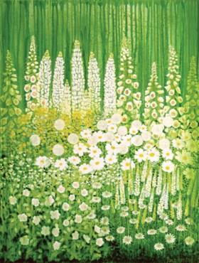 White Garden by Paula