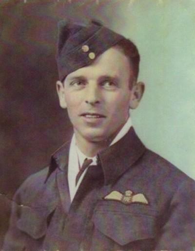 Wellington X3932's pilot Charles Long
