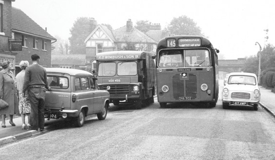 Barnt Green 1960s parking