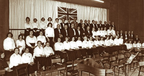 Barnt Green Choral Society in 1977