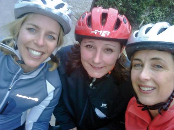 Anna Horton, Karen Flowerdew and Caroline Green