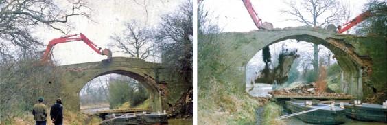 1980s demolition of Bridge 63