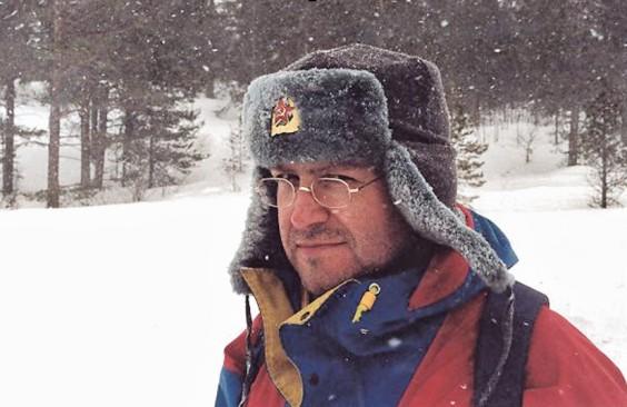 Finstall travel writer Nigel Roberts