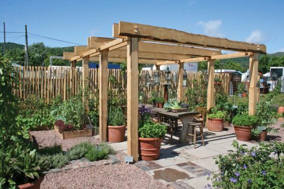Hannah's gold-medal winning garden