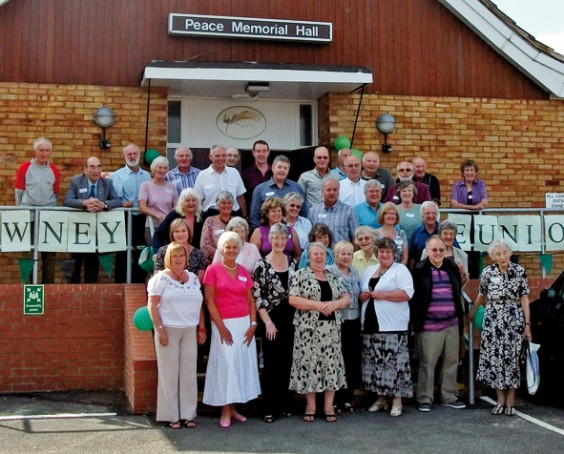Rowney Green residents past and present at the reunion