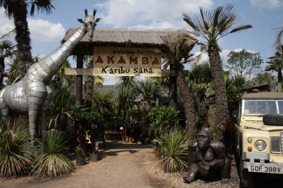 Entrance to Akamba