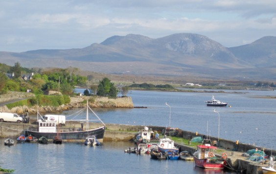Fishing boats, Connemara